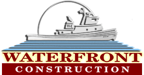 Waterfront Construction Logo