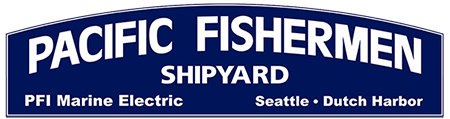 Pacific Fishermen Shipyard Logo